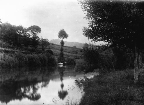 Photograph of the River Mandeo, circa 1960