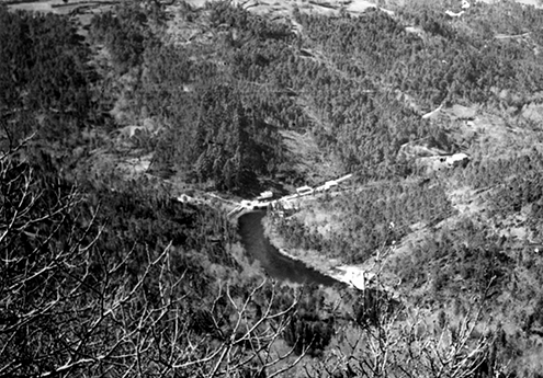 Photograph of the Chelo site, 1971