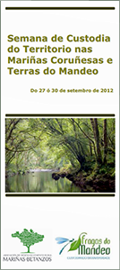 Picture of the agenda of the Land Stewardship Week in the Mariñas of Coruña and Lands of the River Mandeo