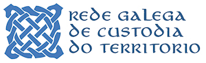 Logo of the Rede Galega de Custodia do Territorio (Galician Network for Land Stewardship)